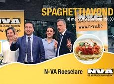 Flyer Spaghettiavond